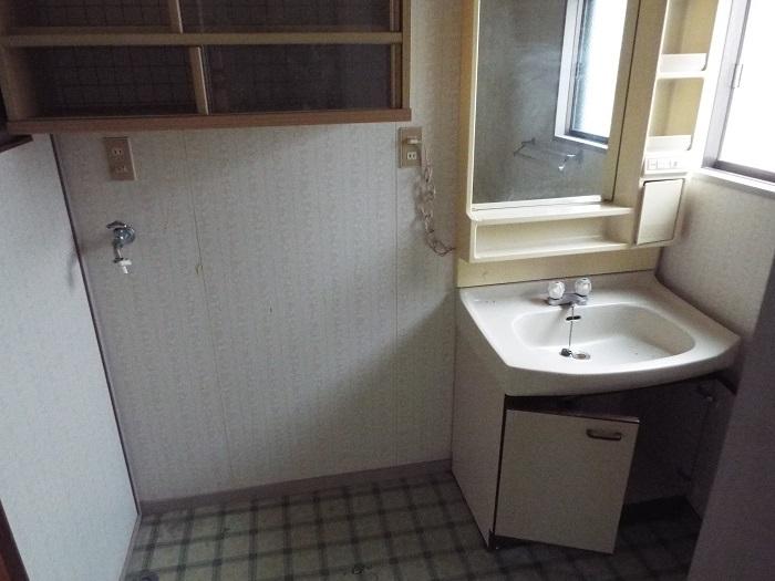 洗面台 / 室内洗濯機置場